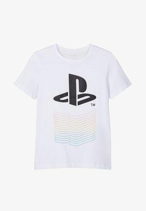 PLAYSTATION-PRINT - T-shirts print - bright white