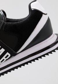 Bikkembergs - HALED - Slip-ons - black/white - 5