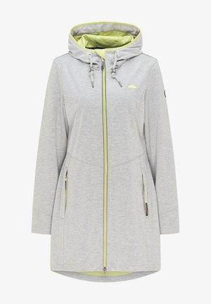 Waterproof jacket - hellgrau melange