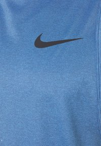 Nike Performance - TANK DRY - Sports shirt - mystic navy/stone blue/heather/black - 5