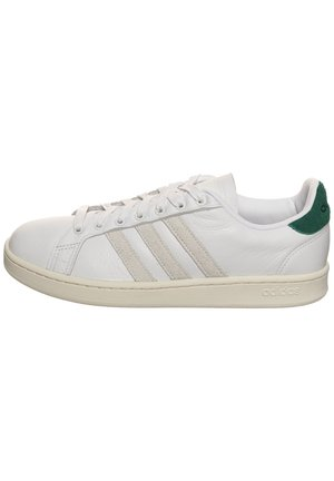GRAND COURT  - Trainers - footwear white/orbit grey/core green