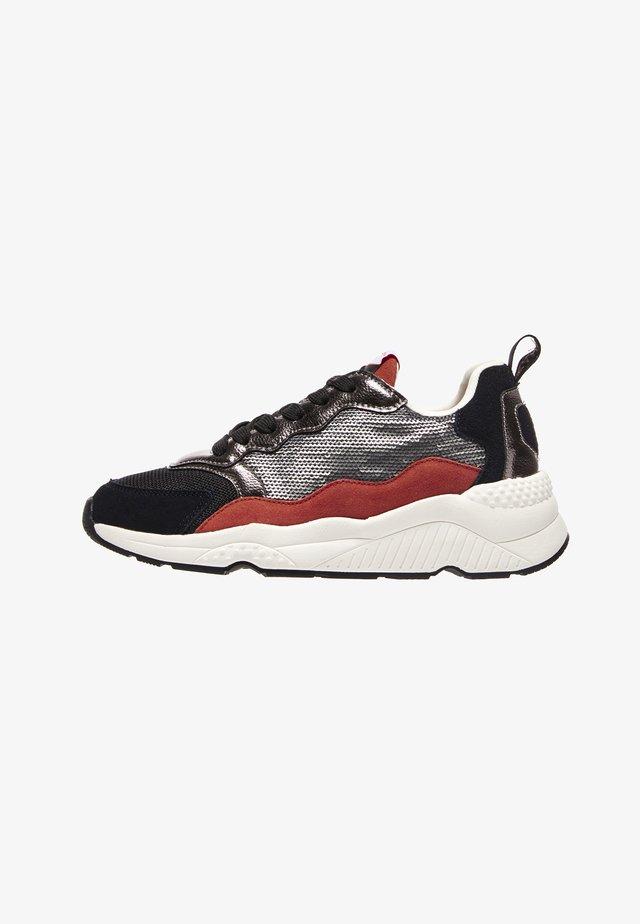 HARLOW SEQUINS - Sneakers laag - plata