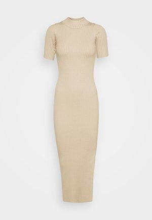 EUPHORIA DRESS - Jumper dress - stone