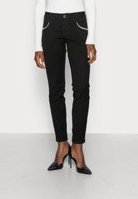 Mos Mosh - ROW BLACK - Jeans Skinny Fit - black - 0