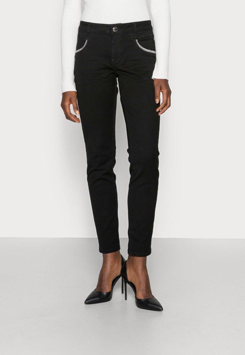 Mos Mosh - ROW BLACK - Jeans Skinny Fit - black