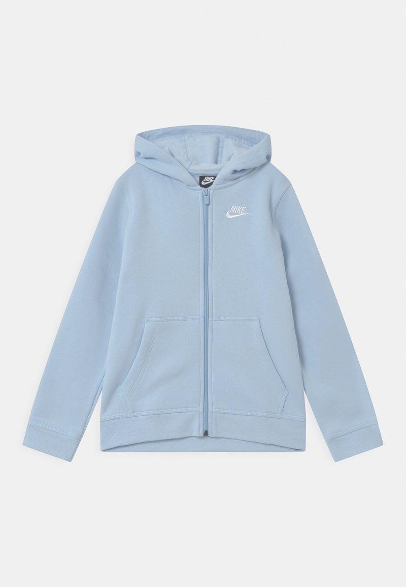 Nike Sportswear - HOODIE CLUB - Zip-up hoodie - psychic blue