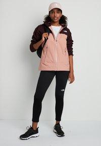 The North Face - STRATOS JACKET - Hardshell jacket - pinkclay/root - 1
