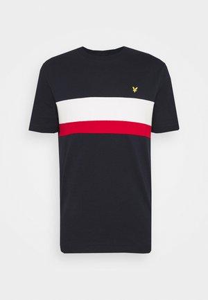 CUT AND SEW - T-shirt med print - dark navy