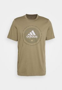 adidas Performance - UNIVERSAL - T-shirt med print - cargo - 3
