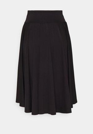 CIRCLE SKIRT - Sports skirt - black