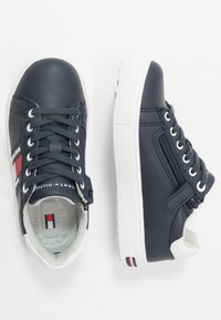 Tommy Hilfiger - Matalavartiset tennarit - blue/white - 0