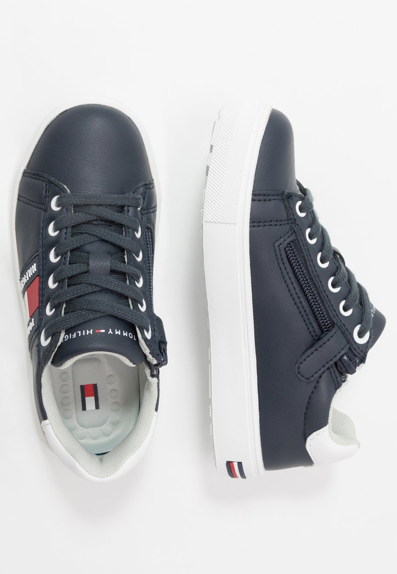 Tommy Hilfiger - Matalavartiset tennarit - blue/white