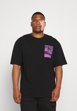 FROM FUJI - Print T-shirt - black