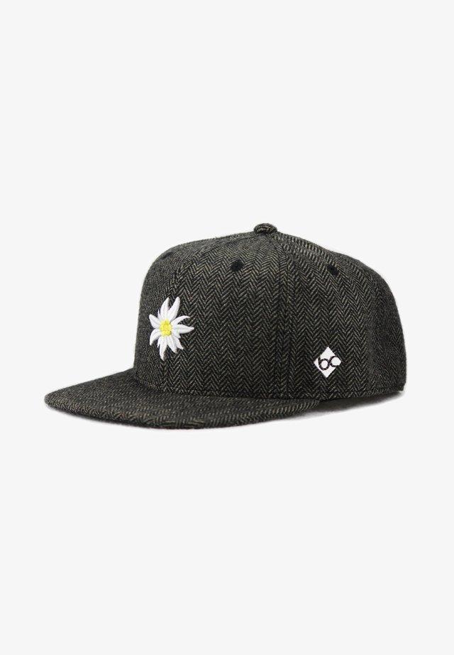 EDELWEISS TWEED - Cap - dunkelgrau