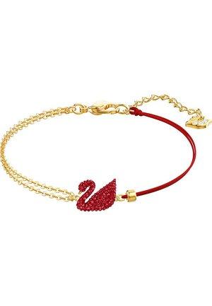 Bracelet - gold, red