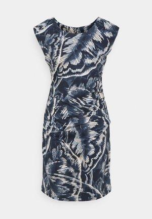 FILICA INDIA DRESS - Pouzdrové šaty - blue tone