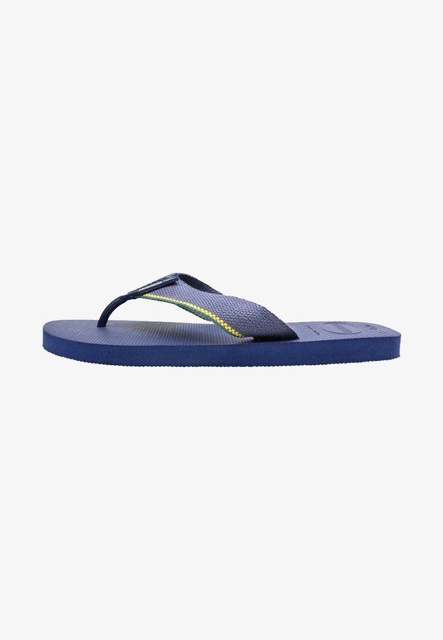 URBAN BRASIL - Pool shoes - navy blue