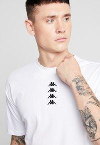 Kappa - VATOU - Print T-shirt - white - 4