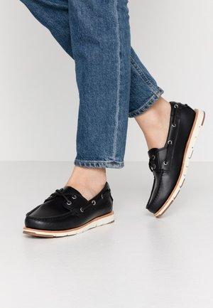 CAMDEN FALLS - Boat shoes - navy full grain