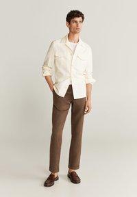 Mango - VICTORIA - Summer jacket - ecru - 1