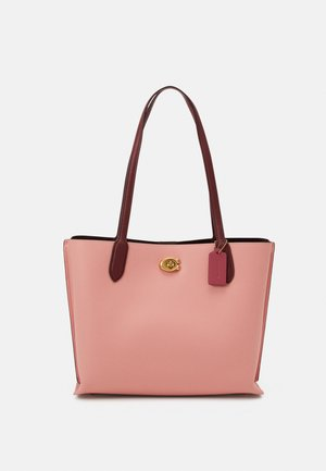 COLORBLOCK SIGNATURE INTERIOR WILLOW  - Tote bag - candy pink/multi