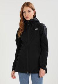 The North Face - WOMENS HIKESTELLER JACKET - Hardshell jacket - black - 0