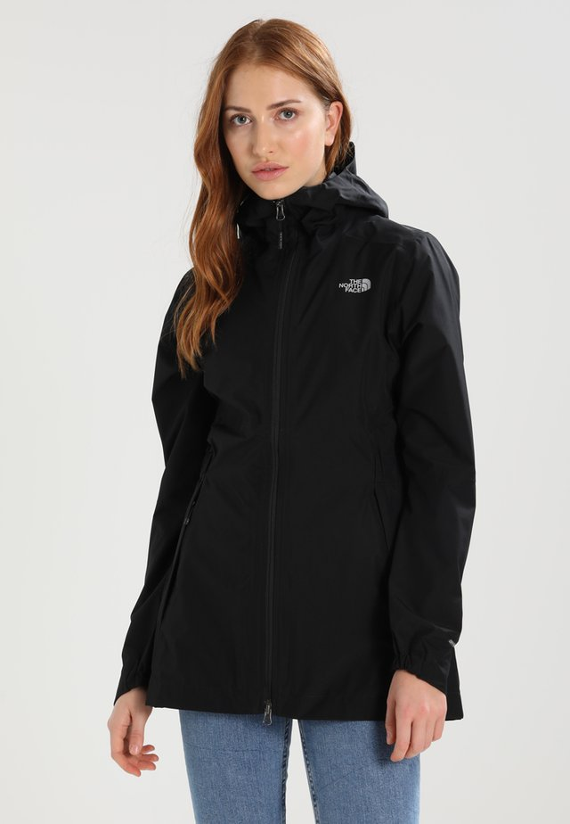WOMENS HIKESTELLER JACKET - Hardshell jacket - black