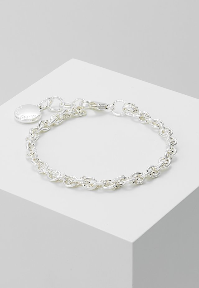 SPIKE SMALL BRACE - Bracciale - plain silver-coloured