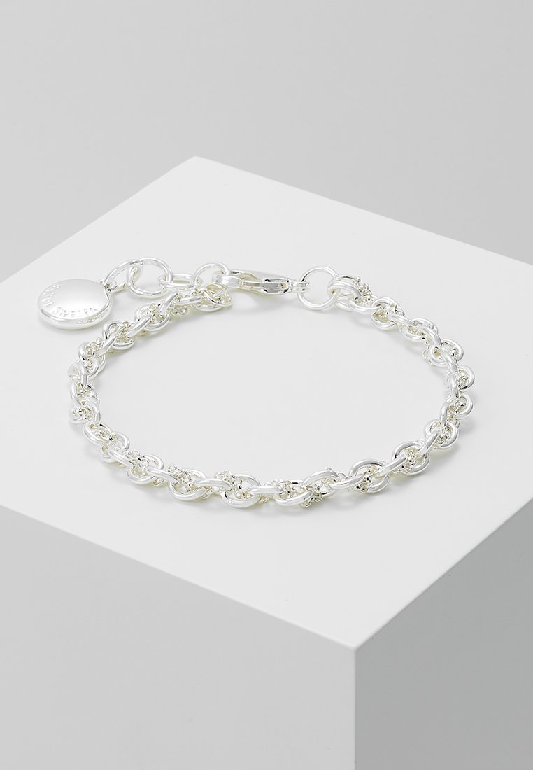 SNÖ of Sweden - SPIKE SMALL BRACE - Bracelet - plain silver-coloured