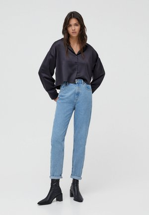 MOM - Jeans baggy - grey
