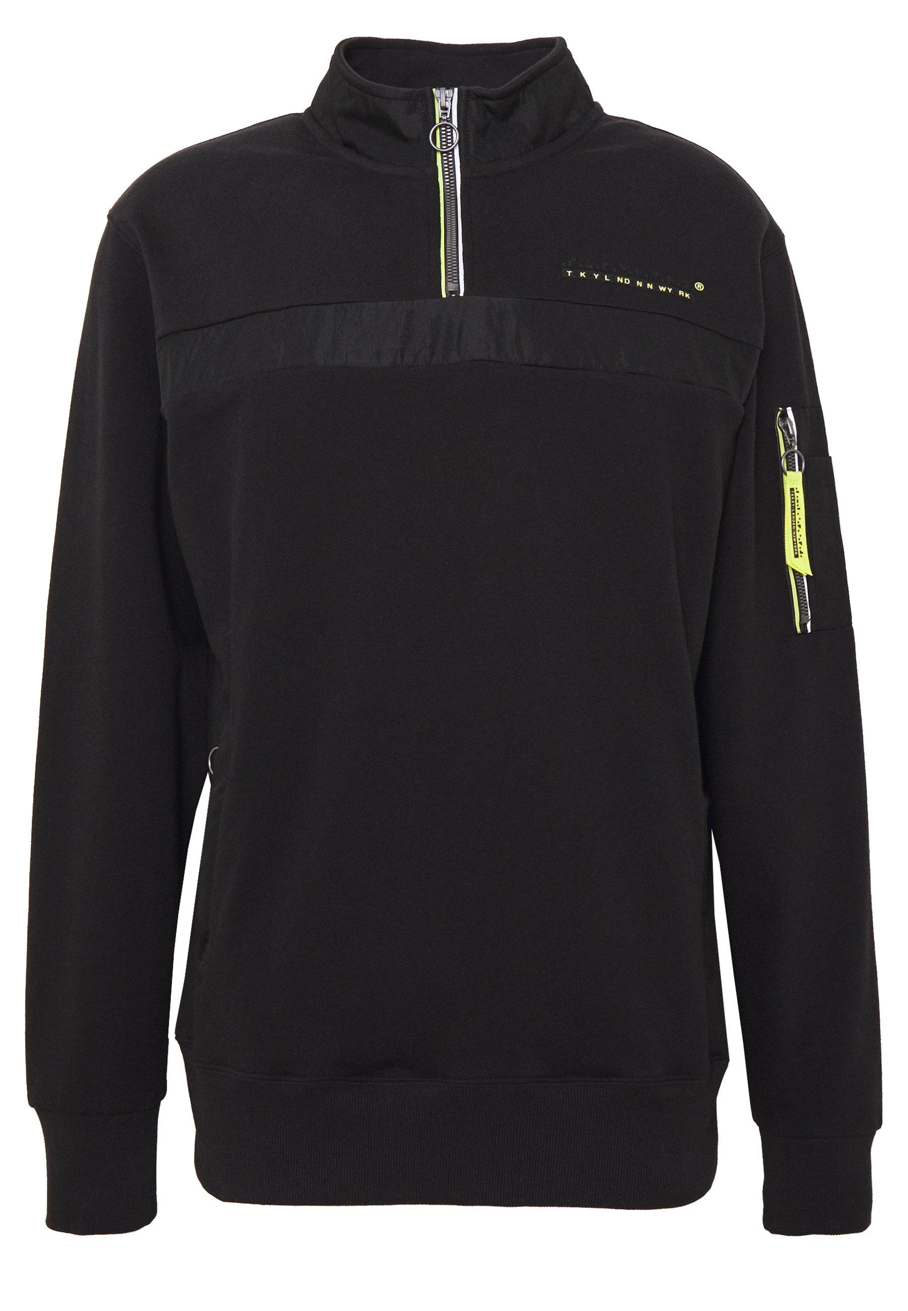 Men TECH CODE HALF ZIP TRACK - Sweatshirt