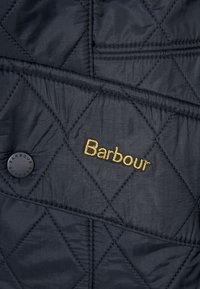 Barbour - POLARQUILT - Lehká bunda - black - 3