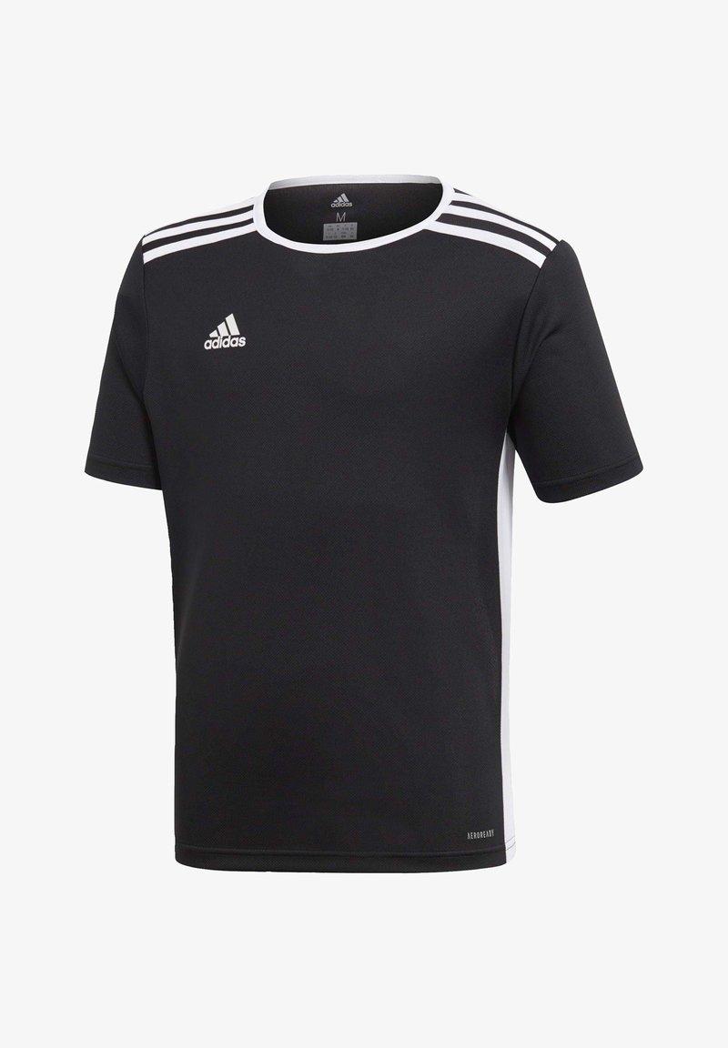 adidas Performance - ENTRADA JERSEY - Print T-shirt - black