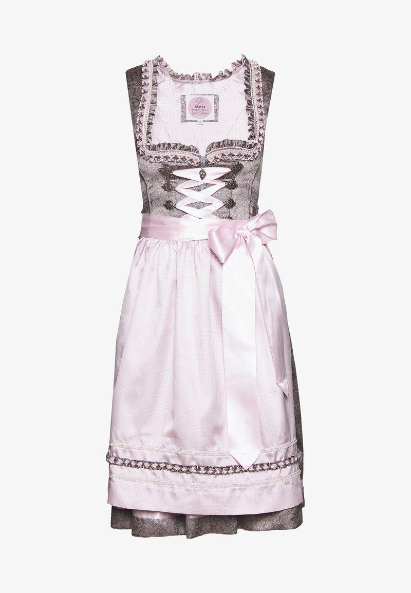 Marjo - NUMA - Oktoberfestklær - grau/rosa