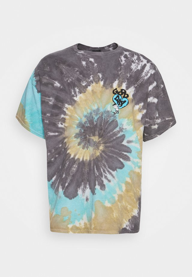 TIE DYE GREAT DAY TEE UNISEX - T-shirt con stampa - multi