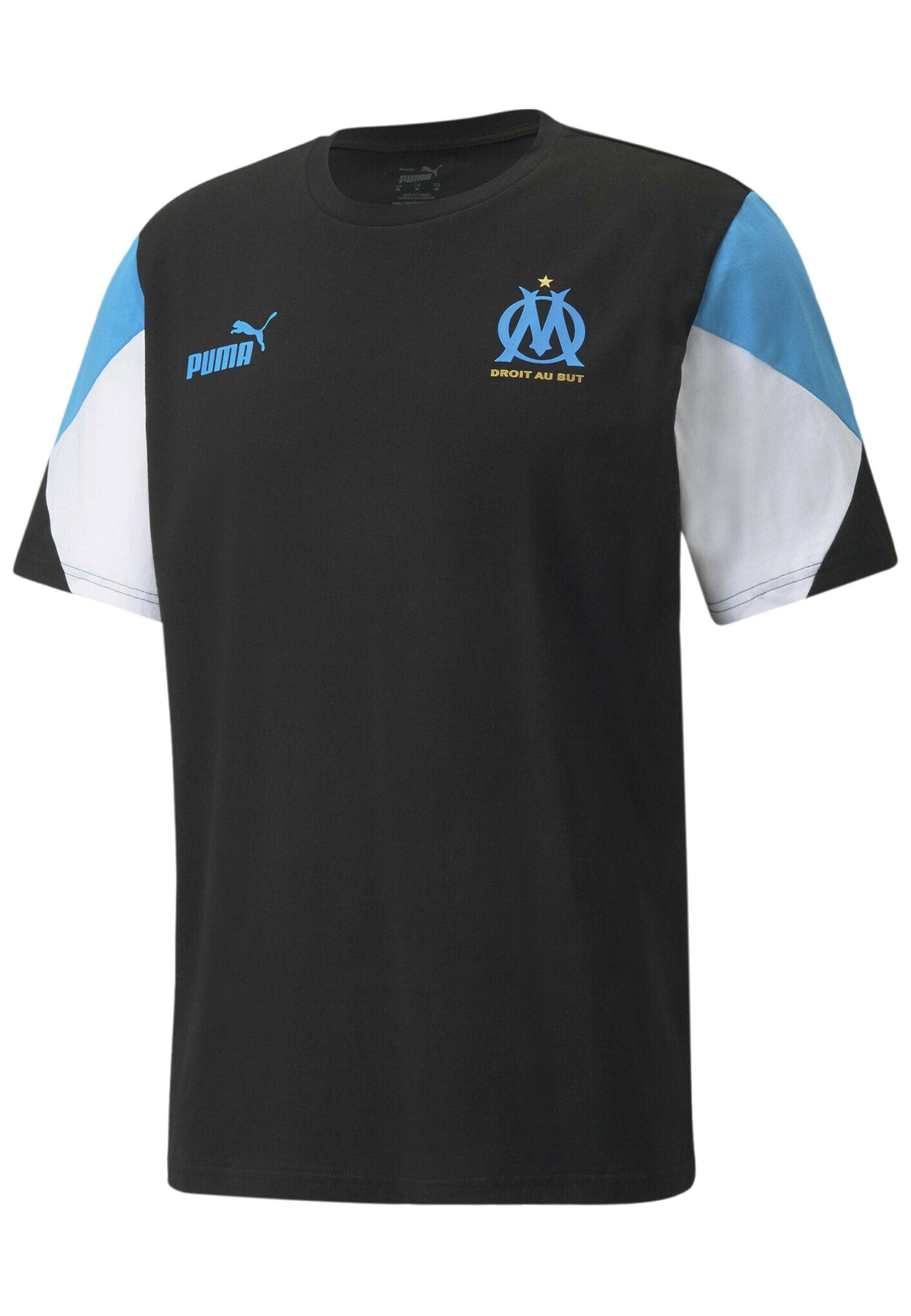 Homme OLYMPIQUE DE MARSEILLE FTBLCULTURE TEE - T-shirt de sport