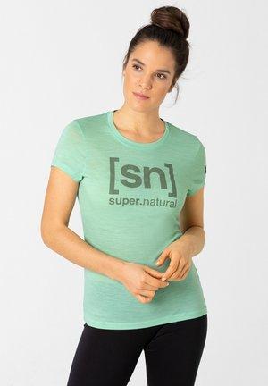 W ESSENTIAL  - Print T-shirt - mint