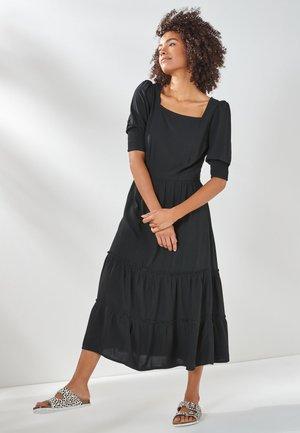 TIERED - Day dress - black