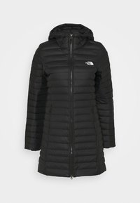 W STRETCH DOWN PARKA - Kabát zprachového peří - black