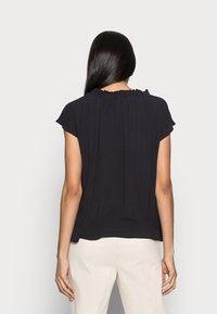 Esprit - BLOUSE - Print T-shirt - black - 2