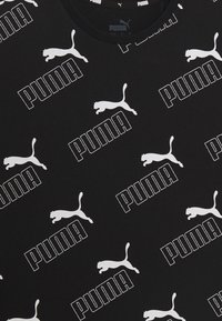 Puma - AMPLIFIED TEE  - Print T-shirt - black - 3