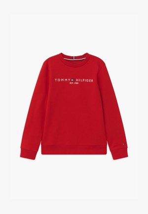 ESSENTIAL UNISEX - Sweatshirts - red