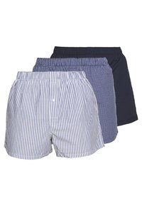 Lacoste - 3Pack - Boxer shorts - navy blue/white-tropical - 0