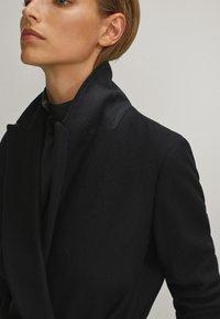 Massimo Dutti - Płaszcz wełniany /Płaszcz klasyczny - black - 5