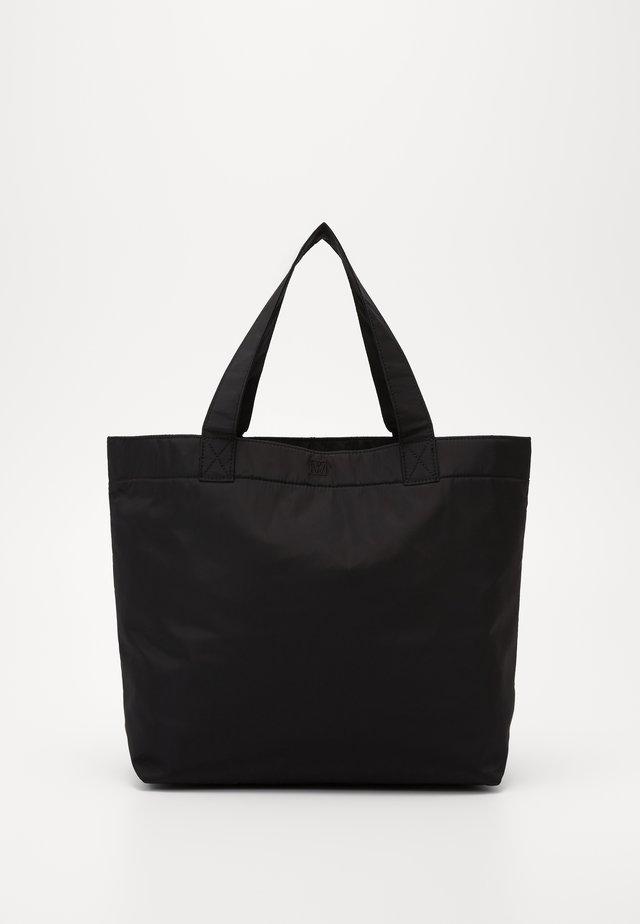 TRAVEL TOTE BAG - Bolso shopping - black
