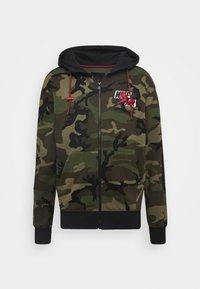 Jordan - Zip-up hoodie - medium olive/black - 4