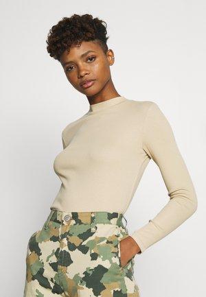 SAMINA - Camiseta de manga larga - beige
