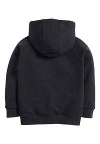 Next - BLACK ZIP THROUGH HOODY (3-16YRS) - Zip-up hoodie - blue - 1