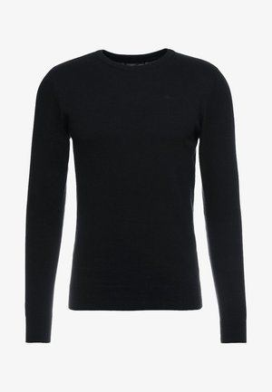 RUNDHALS - Jumper - black