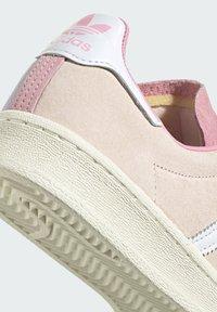 adidas Originals - CAMPUS 80S - Sneakersy niskie - pink tint/ftwr white/purple tint - 6